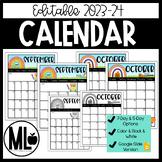 2015-16 Editable Calendar **Vertical**