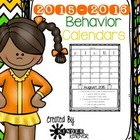 2015-2016 Behavior Management Calendar