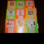 21 Primary Level Color FILE FOLDER GAMES