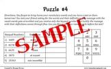 21st Century Skills Logic Puzzles