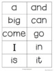 23 Sight Word Assessments (Dolch Lists) for Grades K, 1, 2
