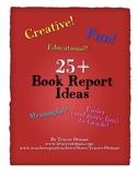 25+ Book Report Alternative Assignments