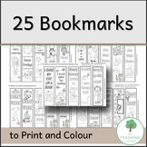 25 Bookmarks to Colour