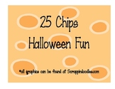 25 Chips Halloween Fun Math Game