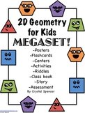 2D Geometry for Kids Megaset!