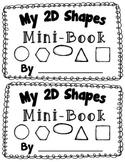 2D Shape Activity {My 2D Shapes Mini-Book} {Common Core Al