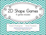 2D Shape Games Pack