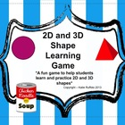 2D and 3D Shape Learning Game