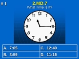 2nd Grade Common Core Math 2 MD.7 Practice of Time Measure