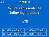 2nd Grade Common Core Math 2 NBT.3 Read And Write Numbers