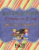 2nd Grade Common Core Math Assessment- Fall