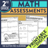 2nd Grade Common Core Math Assessment Packet {Data Noteboo