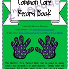 2nd Grade Common Core Record Book (Grade Book)