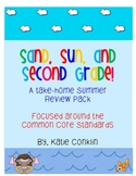 2nd Grade Common Core Summer Review Pack