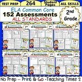 2nd Grade ELA Common Core- (ALL STANDARDS) Assessment Pack