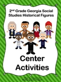 2nd Grade Georgia Historical Figures Center Activities