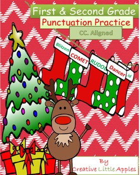 December - 1st/2nd Grade - Grammar Holiday Packet - NO PREP :)