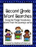 2nd Grade Word Searches with Target Vocabulary from the Jo