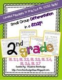 2nd Grade Leveled Reading Passages CCSS {RL.1, RL.2, RL.3,