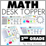 2nd Grade Math Desk Topper