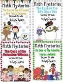 2nd Grade Math Mysteries 8 Pack - Shipped CD