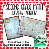 2nd Grade Math Review Lapbook