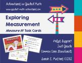2nd Grade Measurement Task Cards -- Measure It!