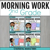 Morning Work for 2nd Grade Common Core BUNDLE
