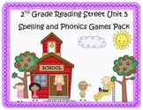 Reading Street 2nd Grade Unit 5 Spelling and Phonics Game