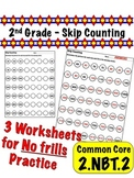 2nd Grade Skip Counting - Common Core 2.NBT.2