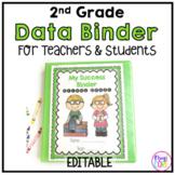 2nd Grade Student & Teacher Data Success Binder-common cor