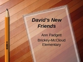 2nd Grade Treasures Vocabulary Powerpoint for David's New Friends