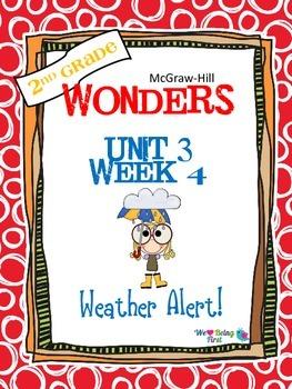 2nd Grade Wonders Reading ~ Unit 3 Week 4 ~ Weather Alert!