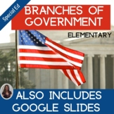 3 Branches of Government Special Education Unit