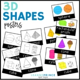 3-D Shapes Poster Pack