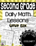 3 Digit Addition and Subtraction - Daily Math Lessons - Unit 6