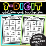 3 Digit Addition and Subtraction
