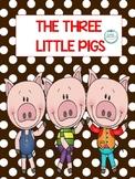 3 Little Pigs Book & Book Buddy