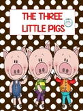 3 Little Pigs Math, Language and Literacy