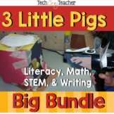3 Little Pigs Literacy and Project Based Bundle