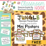 FREEBIE: 31 Prefix and Suffix Mini Posters with Definition