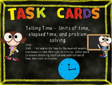 32  Telling Time  Task Cards