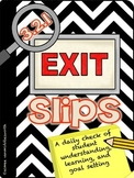 3.2.1 Exit Slips: A Daily Check for Understanding, Learnin