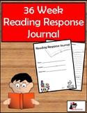 36 Week Reading Response Journal