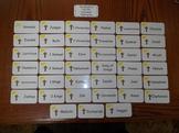 39 Laminated Old Testament Flash Cards.  Children's Bible
