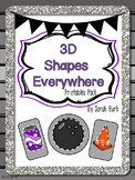3D Shapes Everywhere! Printables Pack - Bundle
