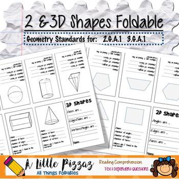 3D Shapes Foldable Organizer