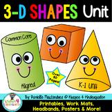 3D Shapes Unit {Common Core Aligned}