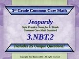 3.NBT.2 Jeopardy Game 3rd Grade Math 3 NBT.2 Add & Subtrac