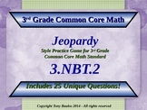 3.NBT.2 Jeopardy Game 3rd Grade Math 3 NBT.2 Add & Subtrac